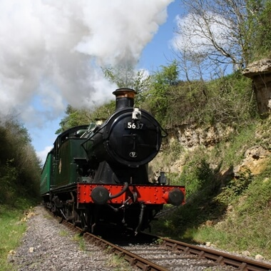 Steam Train Trip with Cream Tea for Two