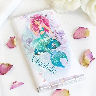 Personalised Mermaid Chocolate Bar