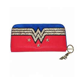 Wonder Woman Star Stud Purse