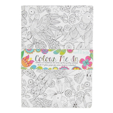Colour Me In Notebook