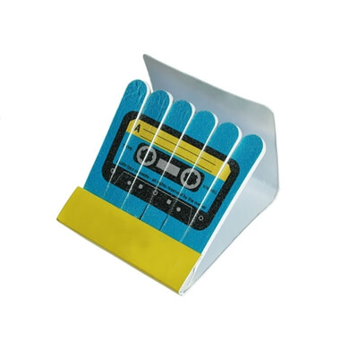 Music Tape Nail File Matchbox