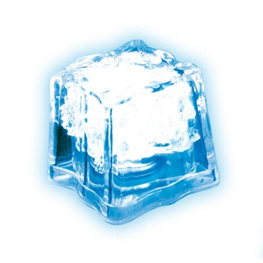 Flashing LED Ice Cube