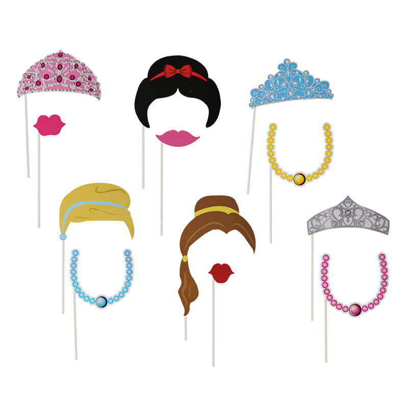 Princess Party Photo Props