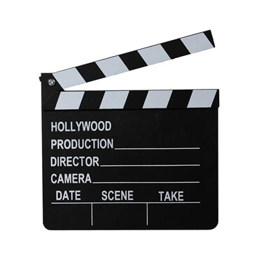 Hollywood Wooden Clip Board