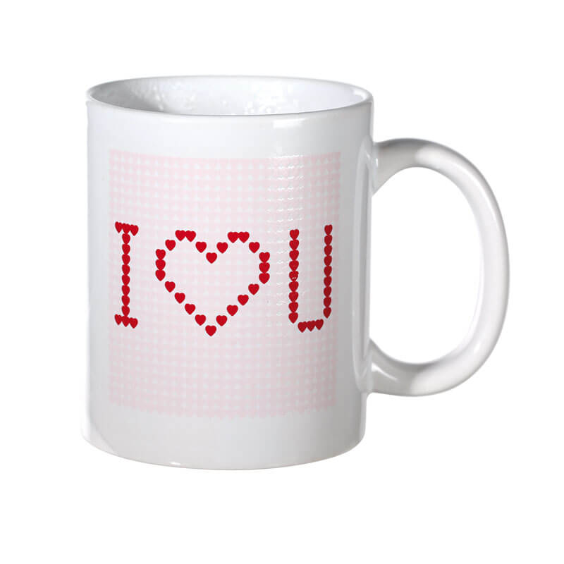 I Love You Heat Changing Mug