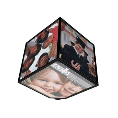 Rotating Photo Cube