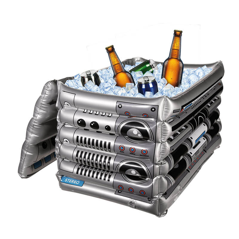Inflatable Boom Box Drinks Cooler