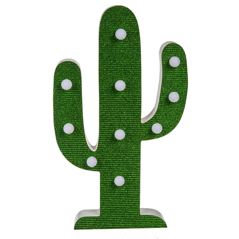 LED Cactus Lamp