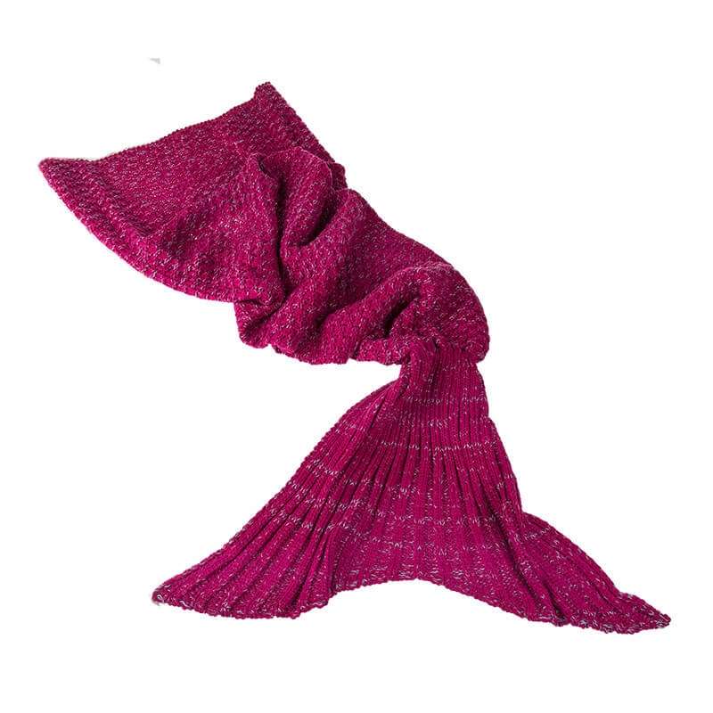 Mermaid Comfort Blanket - Pink