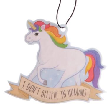 Unicorn Air Freshener - I Don't Believe In Humans