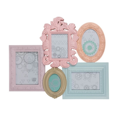 Pastel Retro Dreams Picture Frame