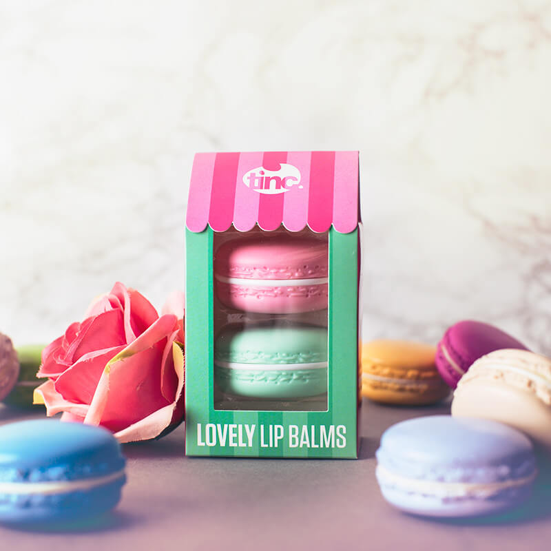 Lovely Macaroon Lip Balm - Set of 2