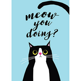 Meow You Doing Tea Towel