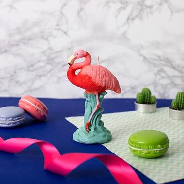 Flamingo Candle