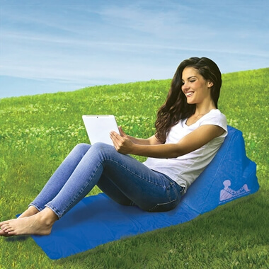 Escape Wicked Wedge Inflatable Lounger - Blue