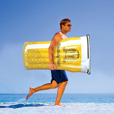 Pint Glass Pool Float