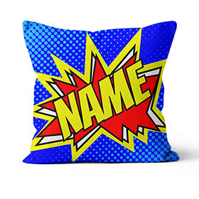Personalised Comic Cushion