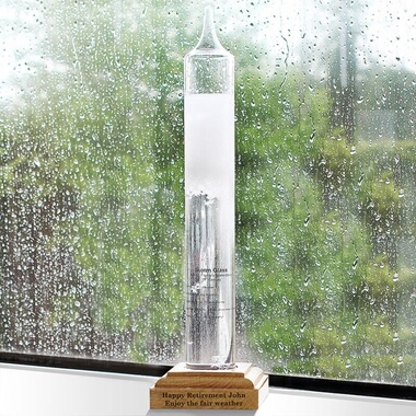Personalised Storm Glass Barometer