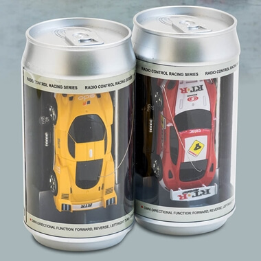 Remote Control Car In A Can