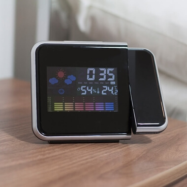 Thermo Projection Alarm Clock