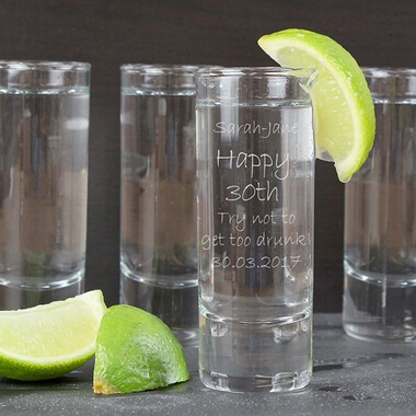 Personalised Shot Glass - Engraved