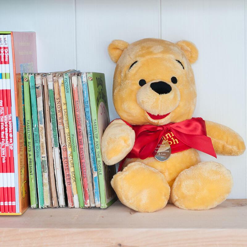 Personalised Winnie The Pooh Bear