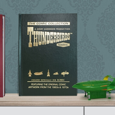 Personalised Thunderbirds Comic Collection