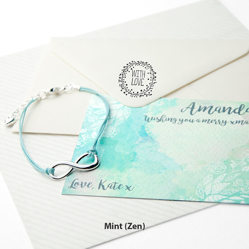 Personalised Infinity Friendship Bracelet