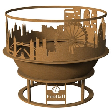 London Skyline Fireball - Medium
