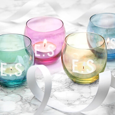 Personalised LSA Tealight Holders Set Of 4