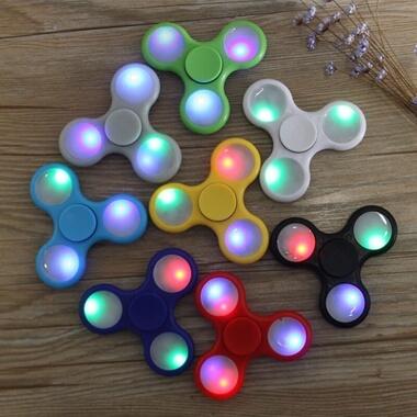 Flashing LED Fidget Spinner