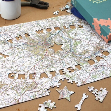 Personalised Father's Day Jigsaw