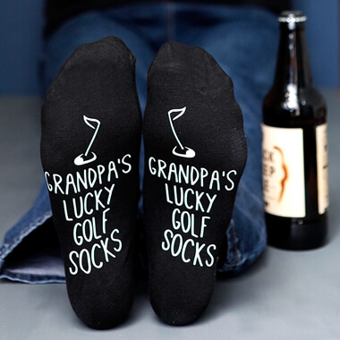 Personalised Golf Socks