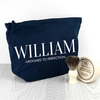 Personalised Men's Wash bag