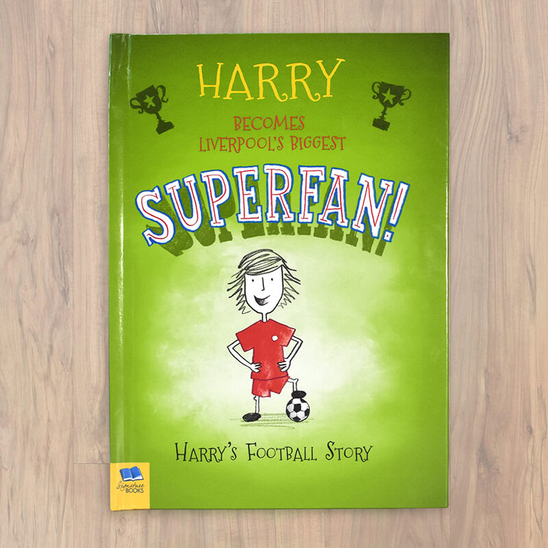 Personalised Football Superfan Book