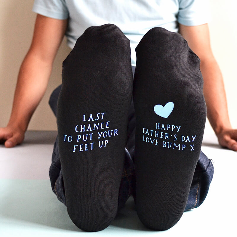 Personalised From Bump Socks