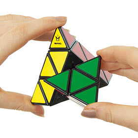 Pyraminx Brain Teaser Puzzle