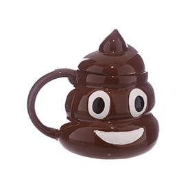 Emotive Poop Mug  With Lid