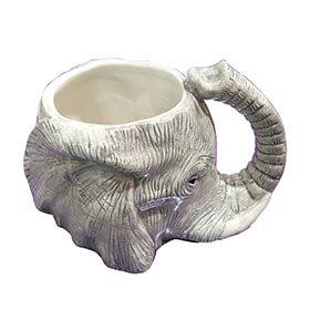 Elephant Head Shaped Mug
