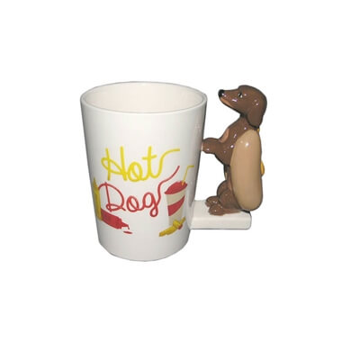 Sausage Dog In A Bun Mug
