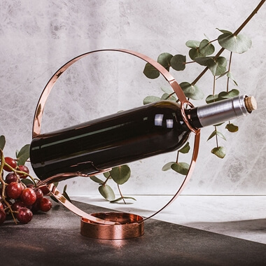 Soiree Wine Bottle Holder And Pourer