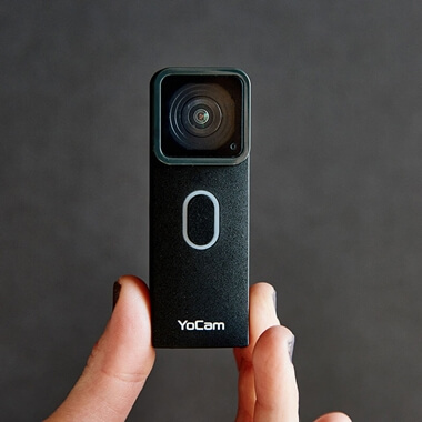 YoCam - World's Most Versatile Waterproof Camera - Black