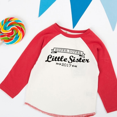 Personalised Super Duper Sibling T-Shirt