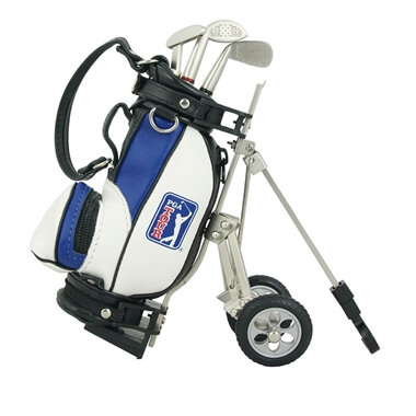Model Golf Bag And Cart Pen Holder