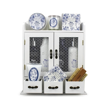Winter In Venice - Blue Hyacinth Heritage Cabinet