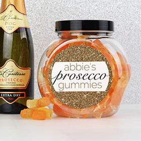 Personalised Prosecco Gummies