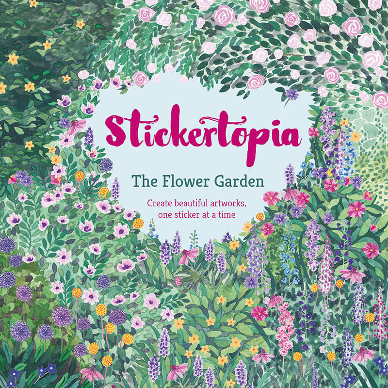 StickerTopia - The Flower Garden