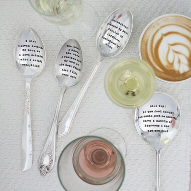 Personalised Serving Spoon