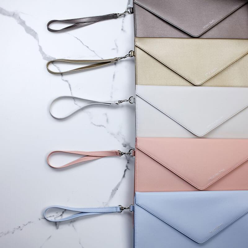 Personalised Envelope Clutch Bag