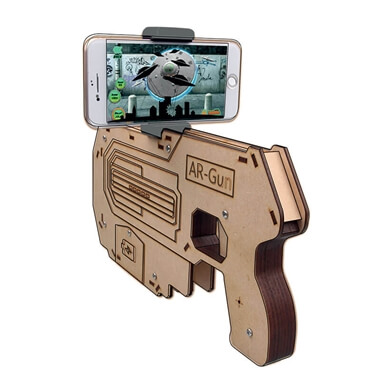 Augmented Reality Blaster Gun